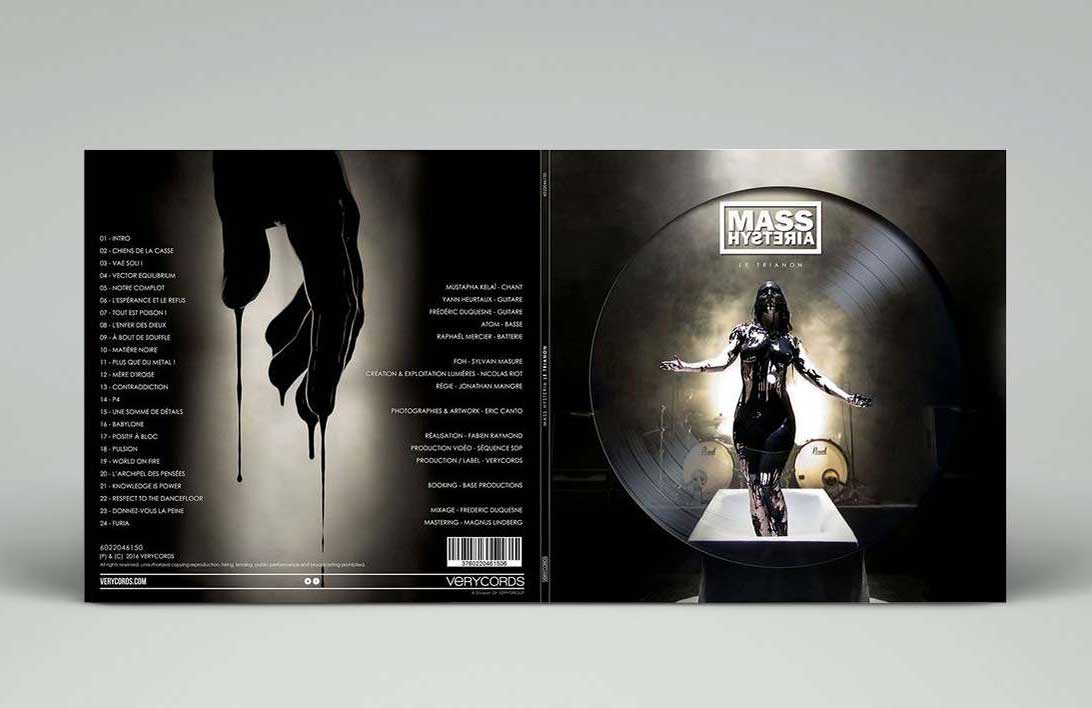 couverture album - illustration album - artwork vinyle