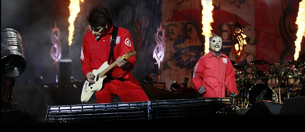 photos concert Slipknot