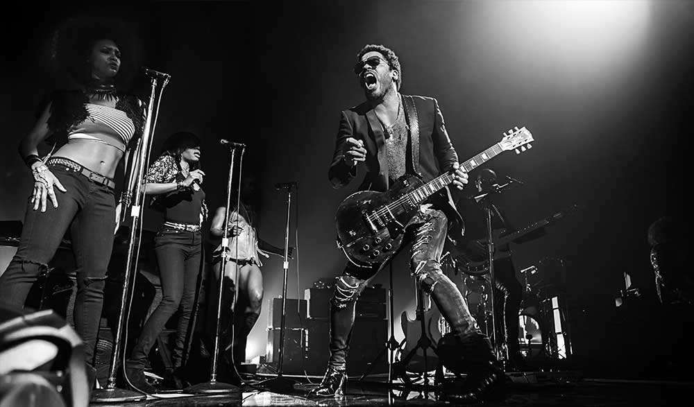 Lenny Kravitz- Crédit photo Eric CANTO