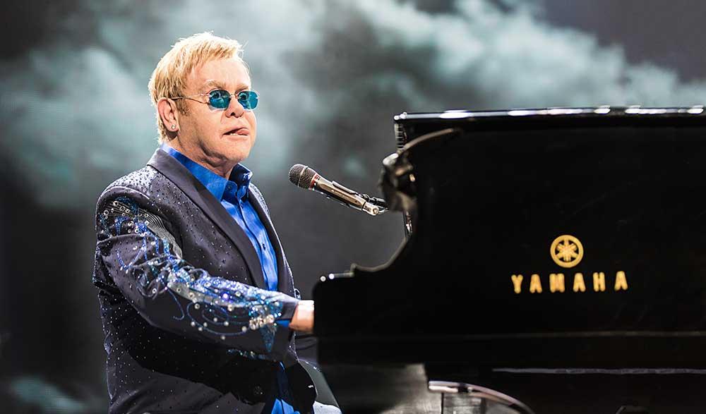 Photographie de concert - Elton John - Crédit photo Eric CANTO