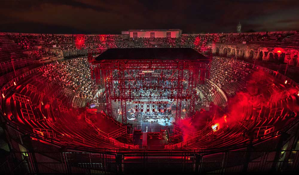 photo de concert festival de nimes
