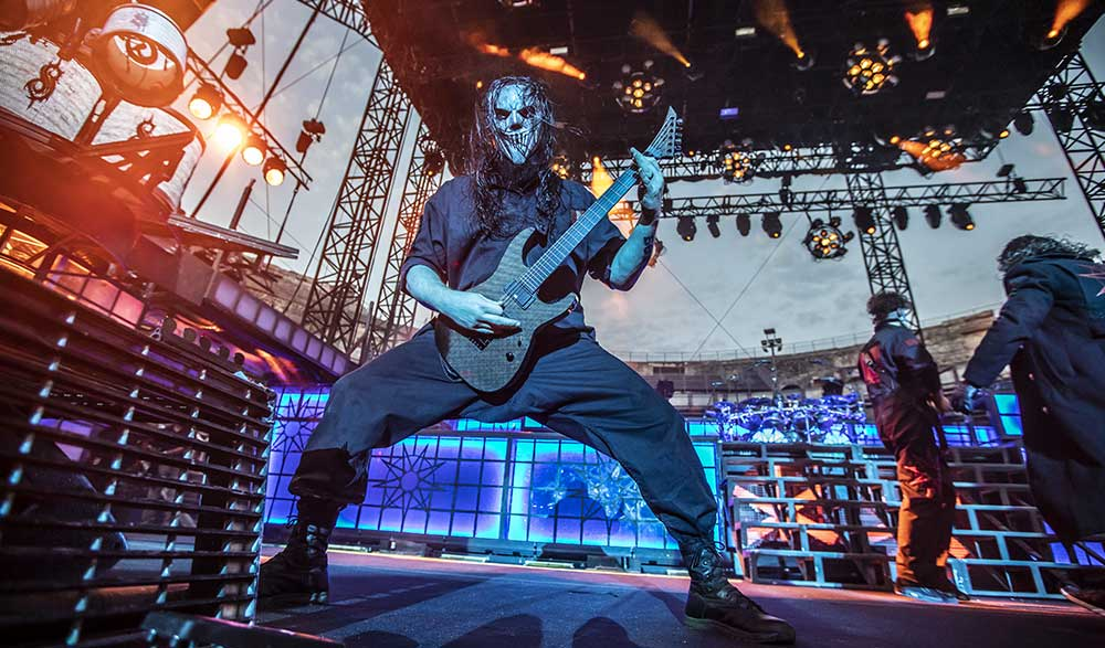 SLIPKNOT Tour 2020 - SLIPKNOT Unmasked : All Out Life