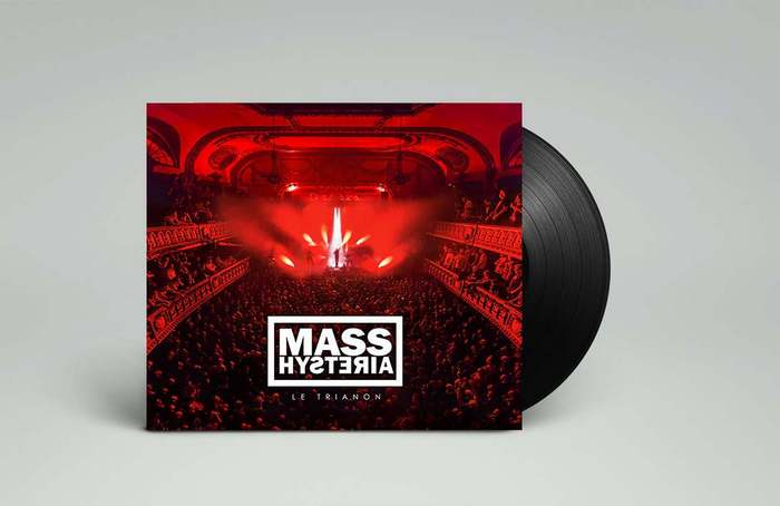 Mass hysteria TRIANON - Unreleased Version - Artwork • Album musique Mass Hysteria