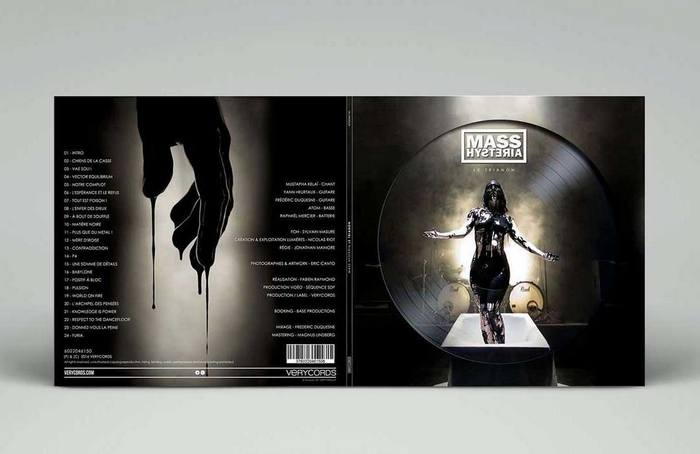 mass hysteria Trianon artwork album musique