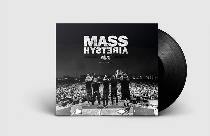 mass hysteria HELLFEST - Artwork - Album musique Mass Hysteria
