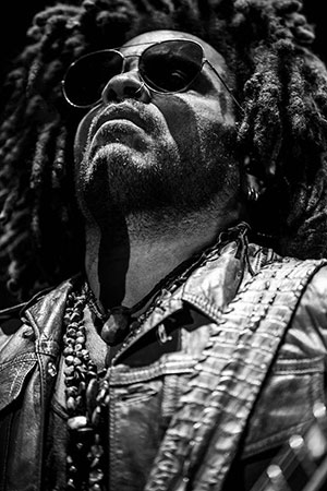 Photo Live - Photo Lenny Kravitz - Zénith Montpellier