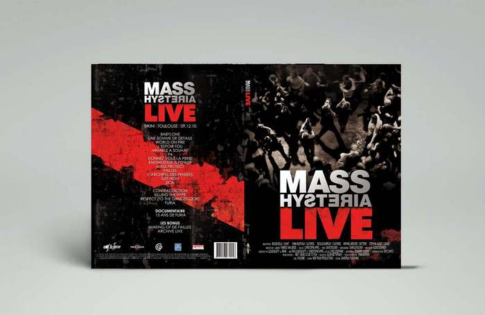 Mass Hysteria LIVE - DVD - Artwork • Photographe professionnel concert