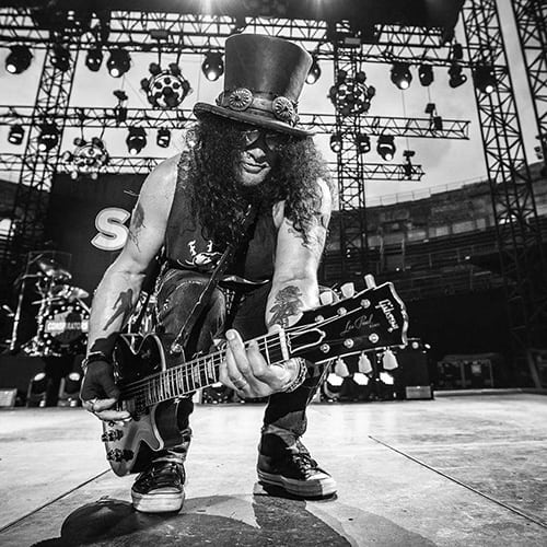 Slash photo concert Hellfest - photo Live