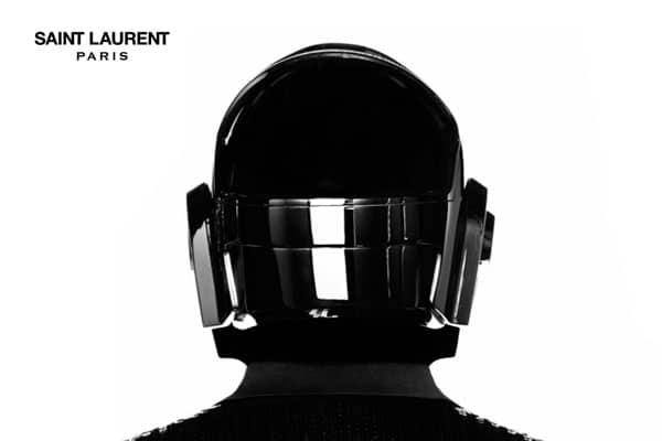 Daft Punk Styled By Yves Saint Laurent