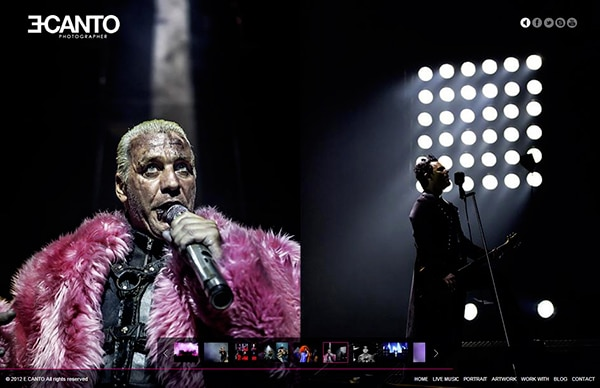Rammstein live photos