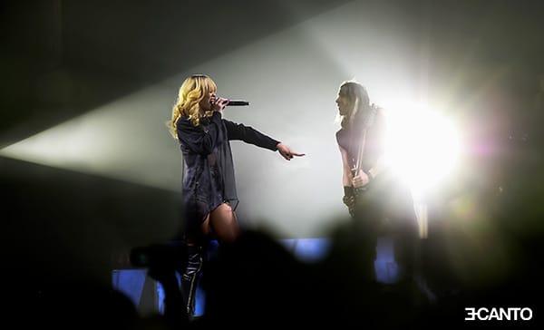 RIHANNA DIAMONDS WORLD TOUR live photography