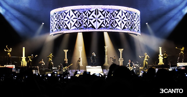 RIHANNA DIAMONDS WORLD TOUR live photography 1