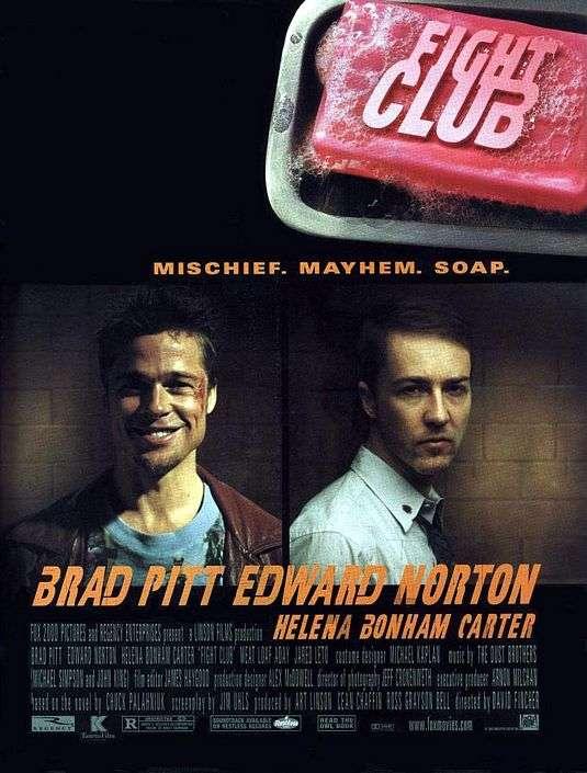 fight club brad pitt edward norton film