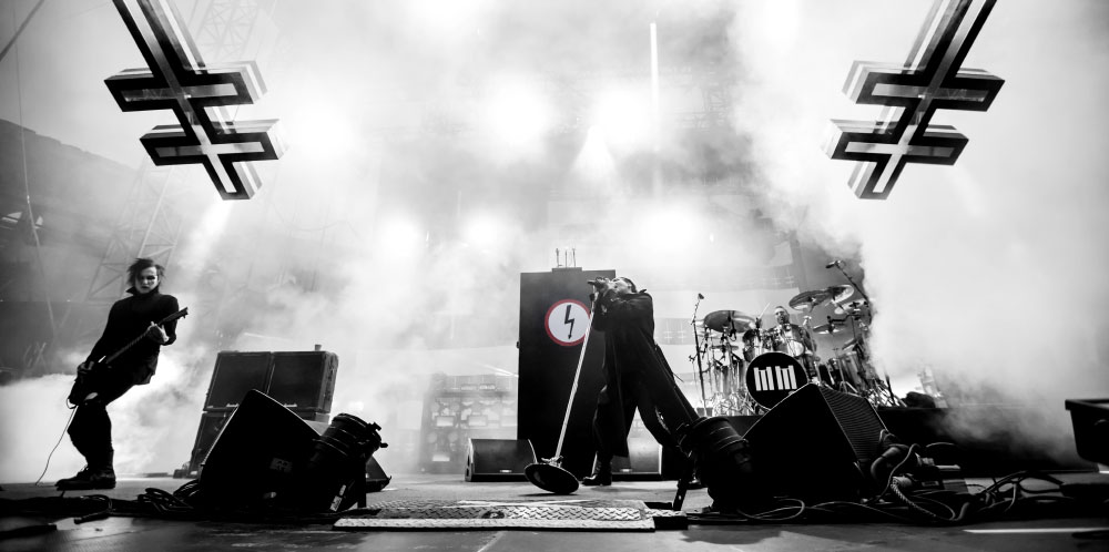 Marilyn Manson concert 2019 arènes de Nîmes - Festival de Nîmes