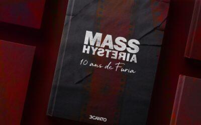 Livre Mass Hysteria – 10 ans de Furia