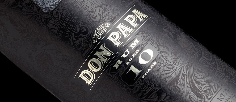 Rhum Don Papa : PACKAGING