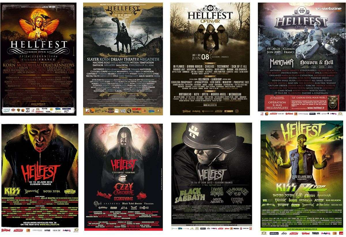 HELLFEST PROGRAMME- festival hellfest