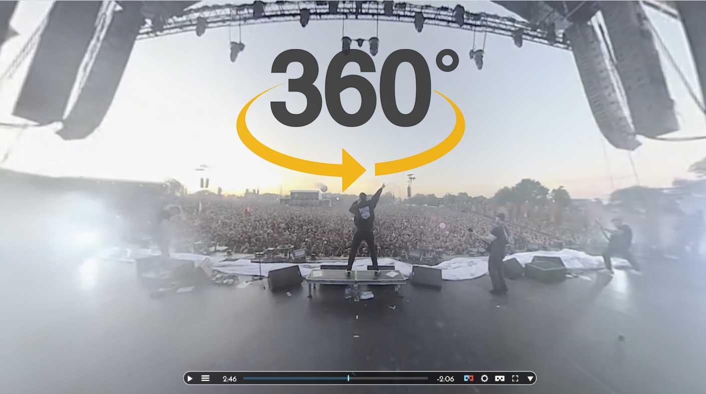 Massenhysterie Hellfest 2019 VR 360 °