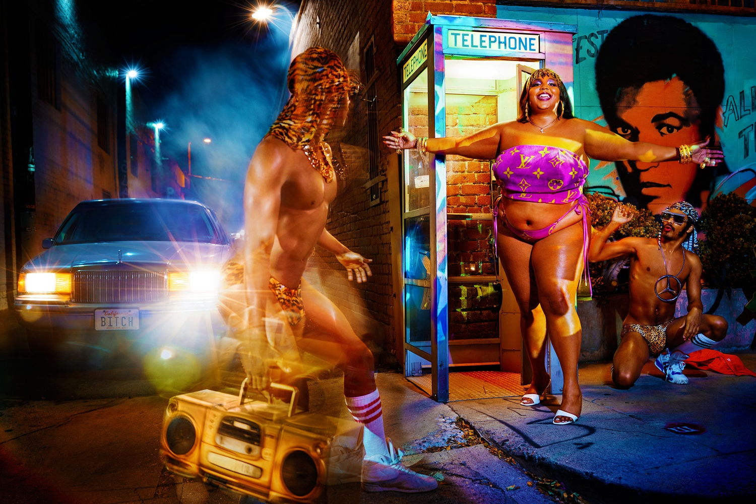 David LaChapelle Lizzo : la rencontre