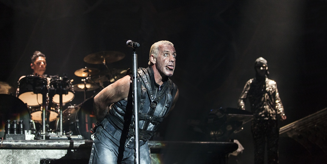 Rammstein live -Crédit photo Eric CANTO
