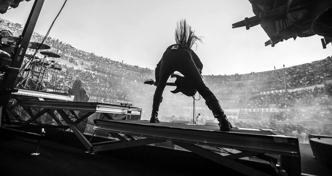 AVATAR-metal-band-concert-festival-nimes-credit photo Eric CANTO