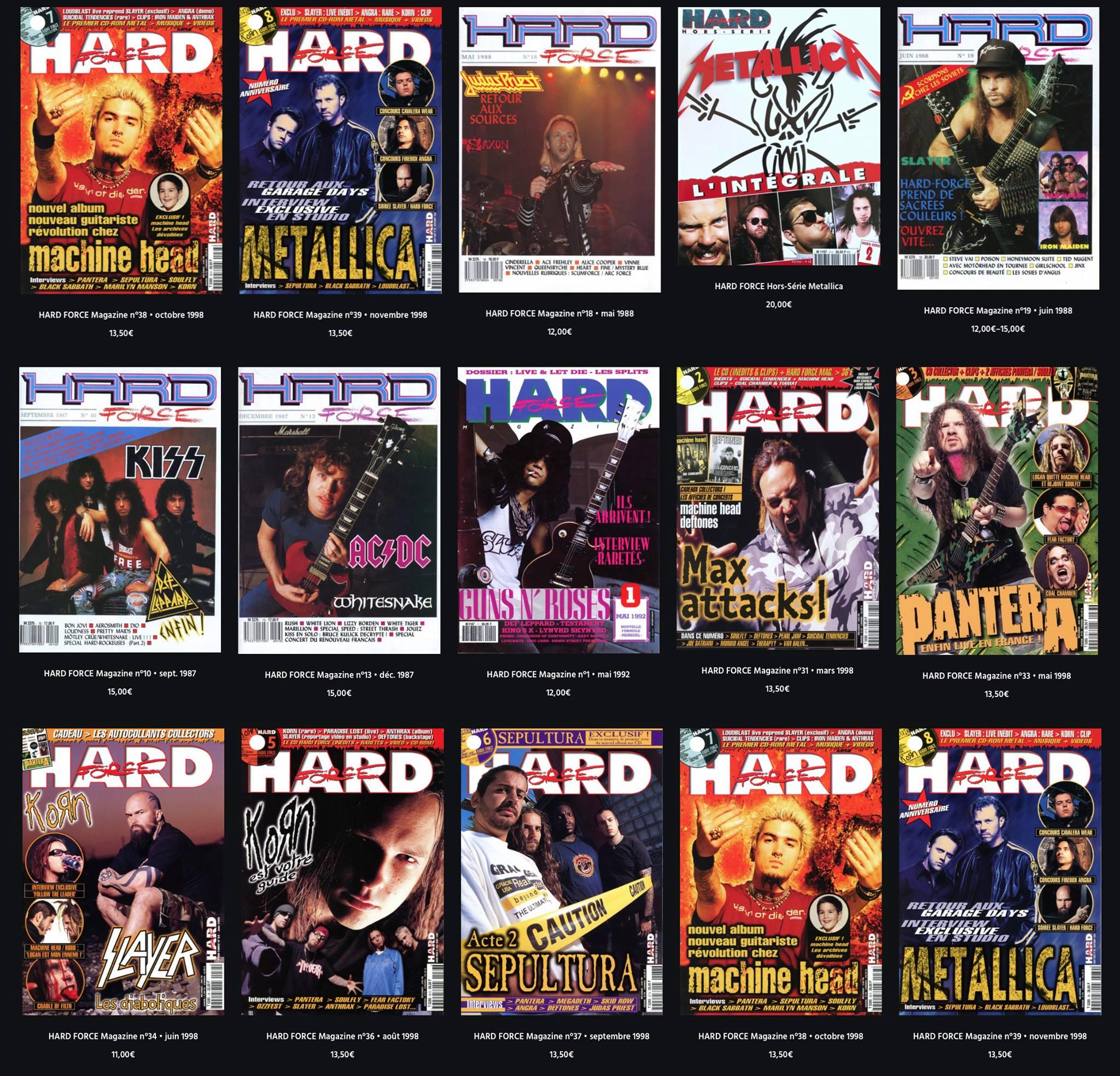 Hard Force Magazine