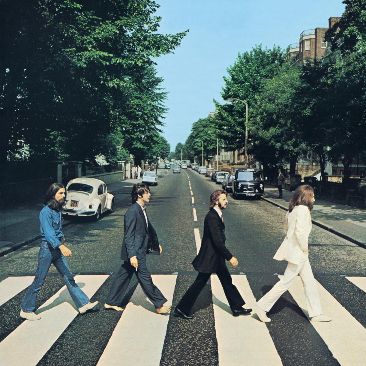 The Beatles Abbey Road le making of de la cover de Iain MacMillan