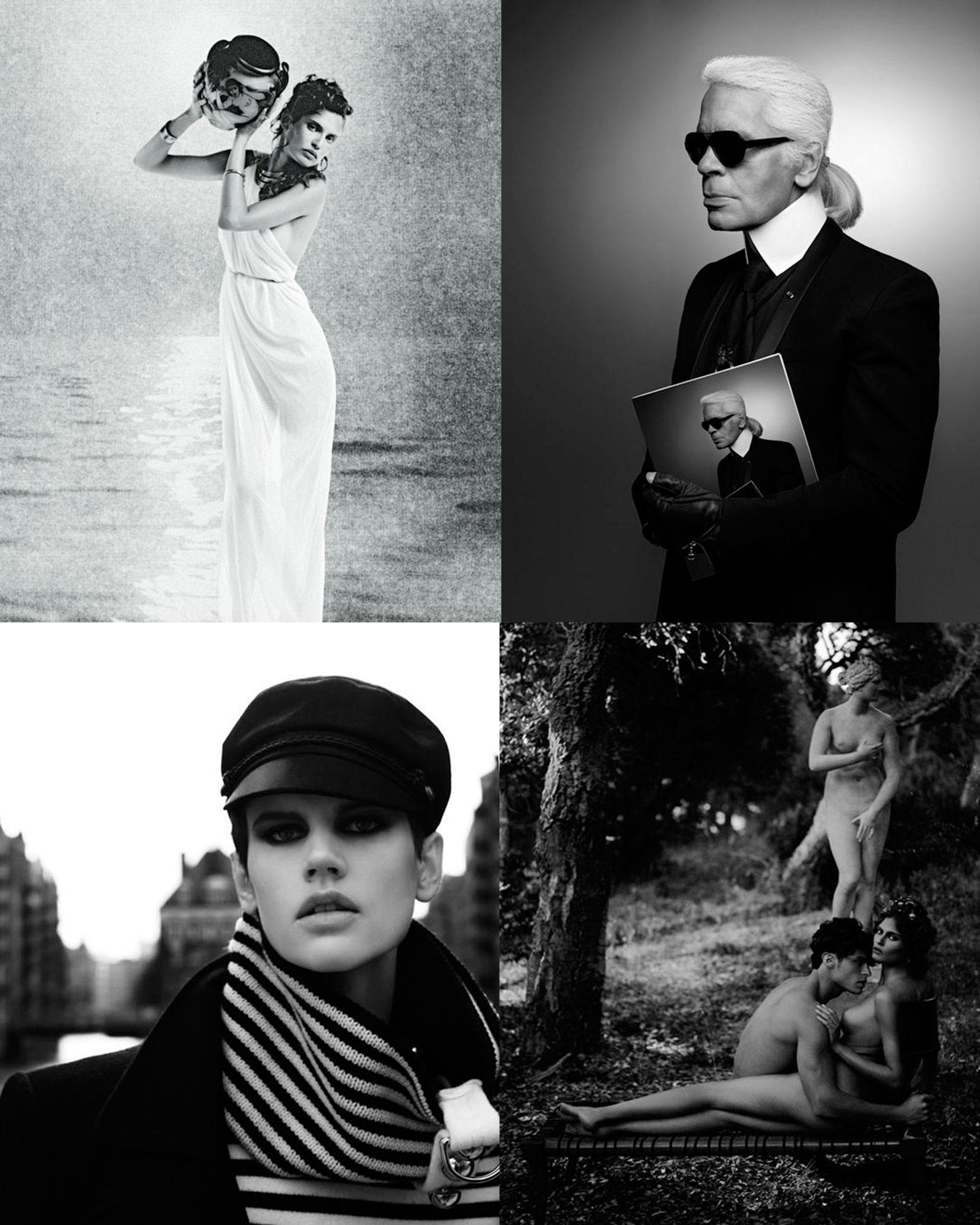 Karl Lagerfeld photos