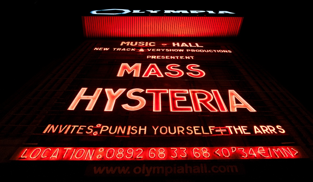 Mass Hysteria Olympia - Crédit photo Eric CANTO