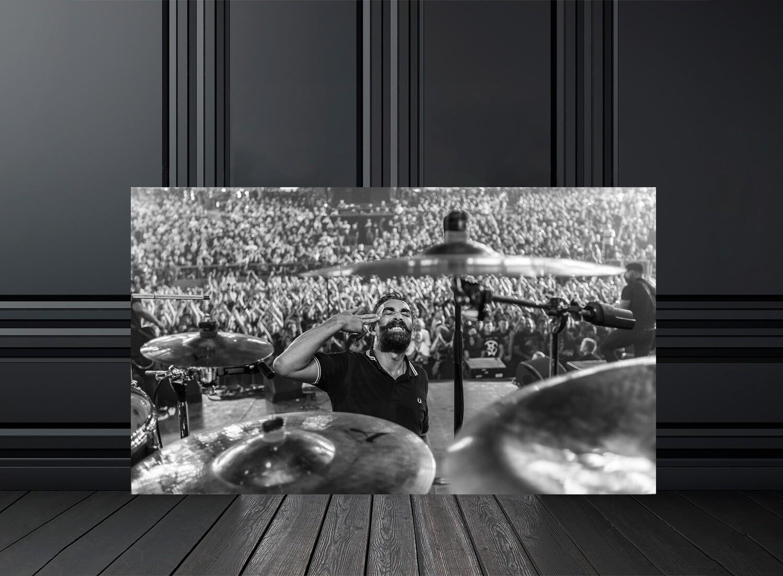 Photo noir et blanc concert Mass Hysteria - Crédit photo Eric CANTO