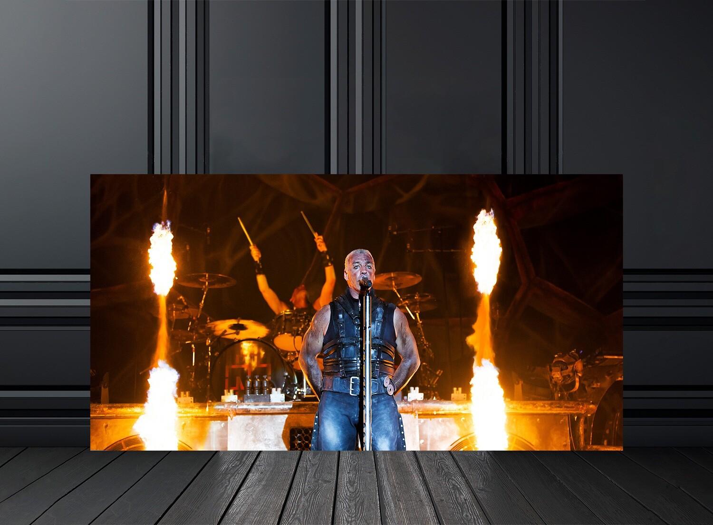 Vente tirage photos de concert Rammstein - Photo de concert par Eric CANTO