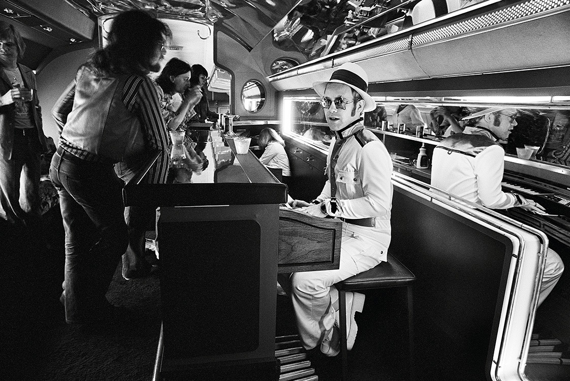 Elton John concert, biographie et film