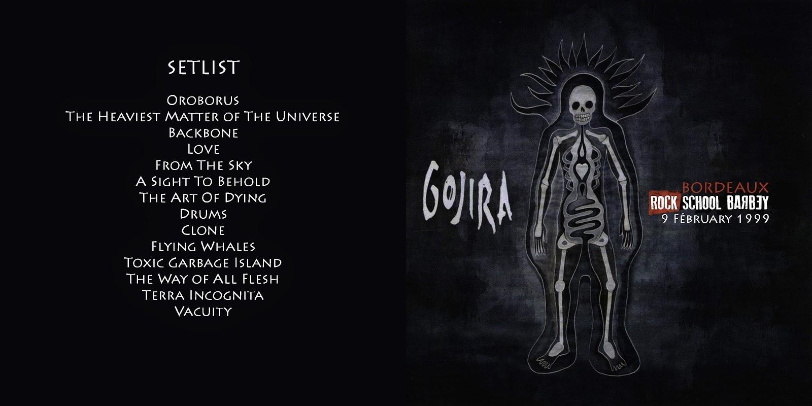 GOJIRA : histoire, albums, clips, live en 10 points. 8
