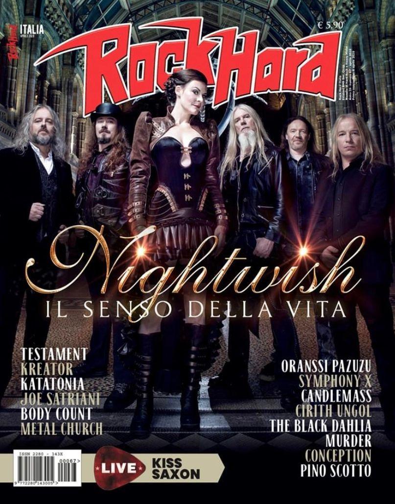 Rock Hard magazine 9