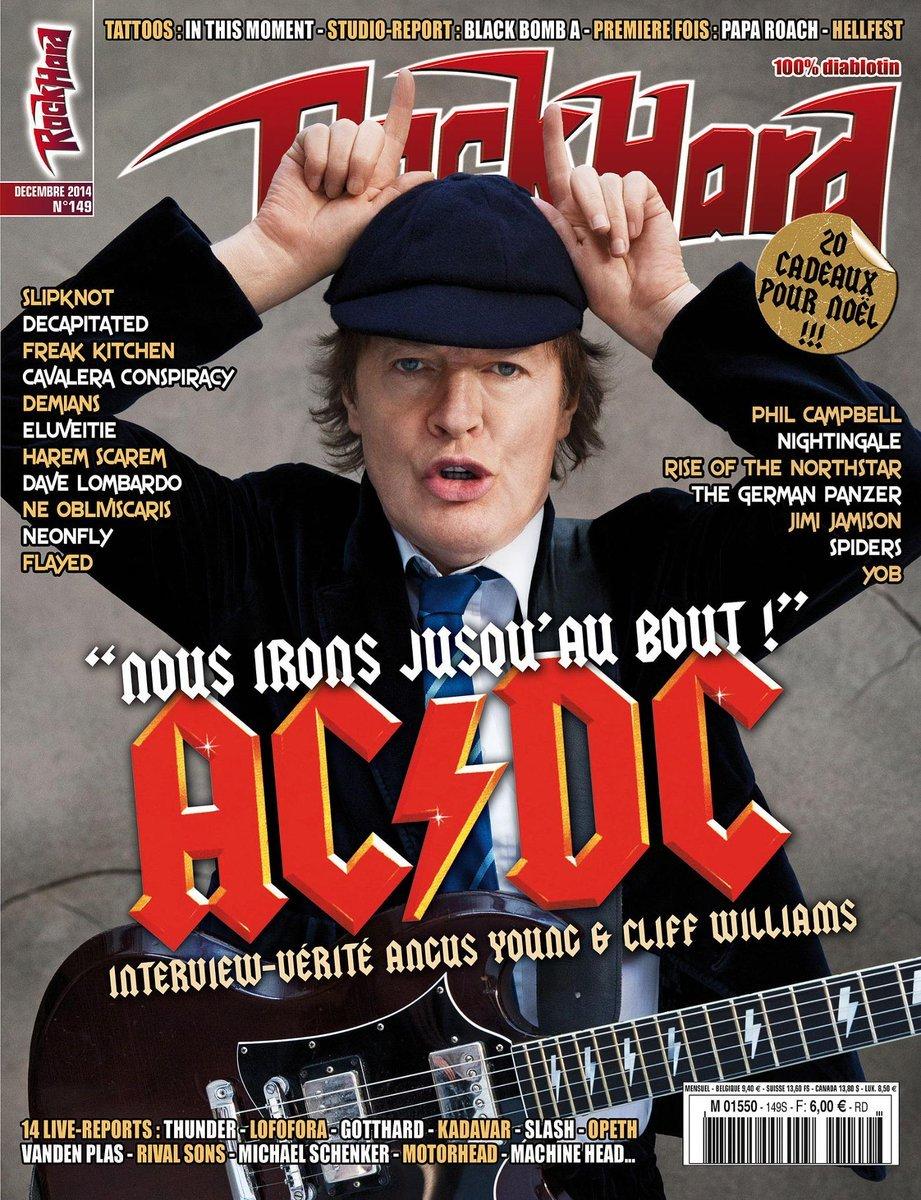 Rock Hard magazine photo Eric CANTO