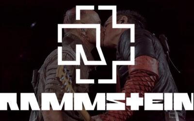 Rammstein concert  : Le baiser