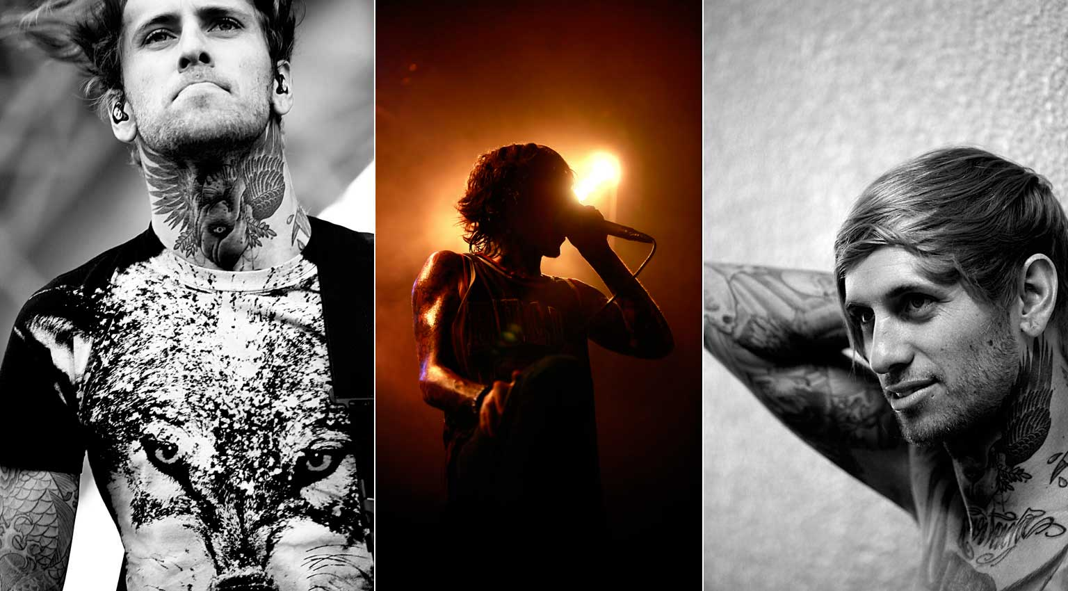 Bring Me The Horizon - crédit photo Eric CANTO photographe musique