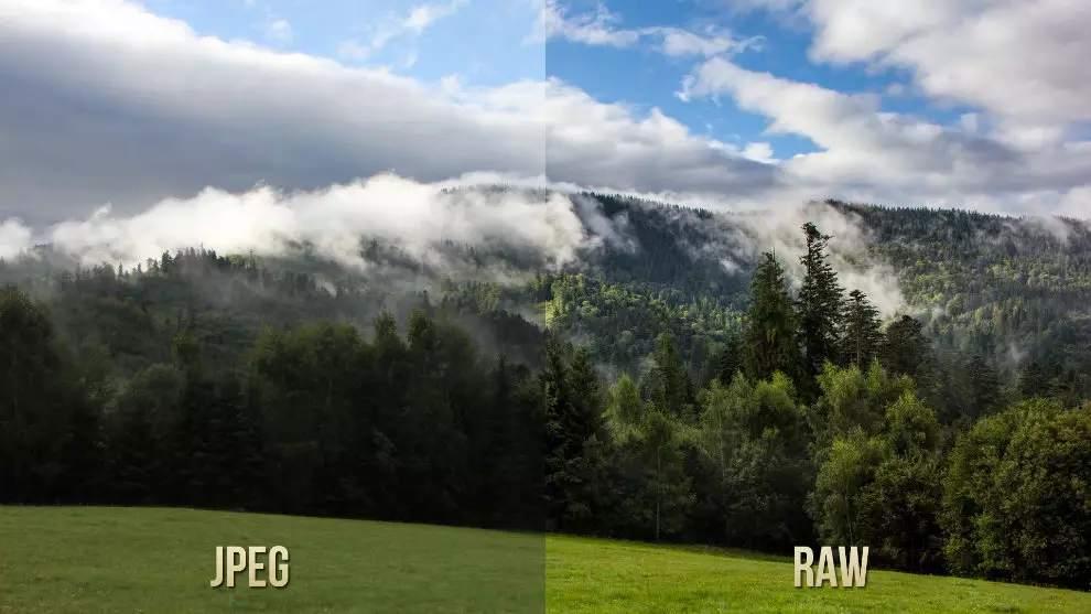 fichier RAW ou fichier JPEG ?